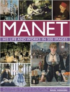 Front fover of Manet
